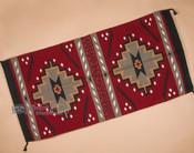 Southwest wool rug.