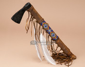 Navajo Beaded Tomahawk - Single Blade