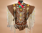 Native American warrior shirt - Creek.