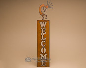 Metal Art Welcome Sign - Kokopelli