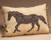 Rustic Western Ranch Designer Pillow 12x16
