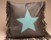 Plush Designer Western Pillow 18x18