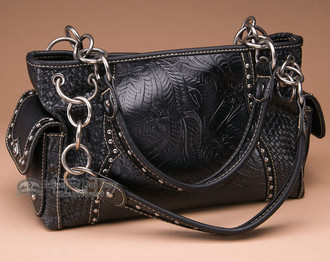 Black Southwest Style Purse