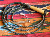 Leather Bull Whip - 10'