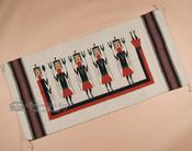 """Zapotec Style Rug Wall Hanging 32""""x64"""" (56)"""