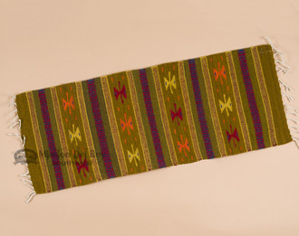 Wool Zapotec Sofa Table Runner