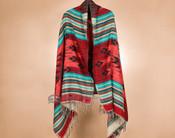 Woven Acrylic Native Shawl