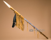 Old Style Beaded Navajo Indian Lance