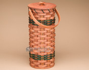 Toilet Paper Holder Amish Basket - Medium