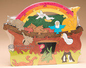 Handcrafted Amish Jig Saw Puzzle -Naoh's Ark