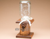 Amish Handcrafted Oak M&M Dispenser