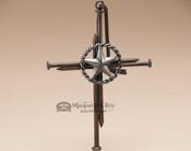 Rustic Western Nail Cross