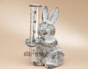 Rustic Rabbit Cast Iron Rain Catcher