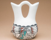 Handpainted Tigua Wedding Vase