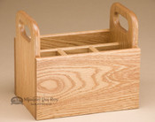 Amish Handmade Oak Table Caddy