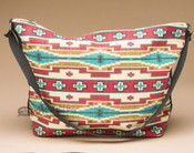 Southwest Style Printed Cotton Purse