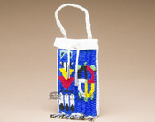 Native American Sioux Beaded Medicine Bag