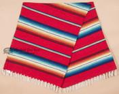 Western Serape Style Mexican Blanket