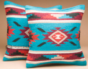 Pair of Wool Southwest Pillow Covers