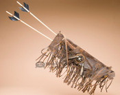 Old Style Quiver and Arrow Set
