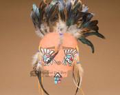 Navajo Indian Clay Mask -Sun Face