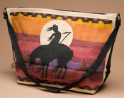 Native Design Cotton Purse -End Of The Trail