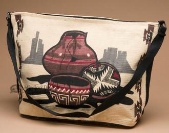 Southwestern Style Shoulder Purse -Pottery