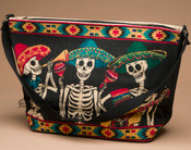 Southwestern Purse -Day of the Dead Mariachi Band