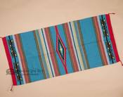 """Feather Style Western Area Rug 32""""x64""""- Turquoise"""