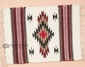 Handwoven Chimayo Place Mat 15x20 -Chevrons