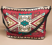 Southwest Native Design Purse -Red Navajo