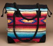 Southwest Woven Rug Tote Bag 17x17 (mont-q)