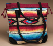 Southwest Style Rug Tote Bag 17x17 (mont-s)