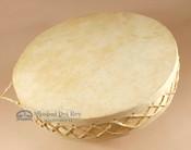 16 inch Diameter Tarahumara Rawhide drum