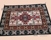 Large Classic Southwestern 6x9 Wool Area Rug