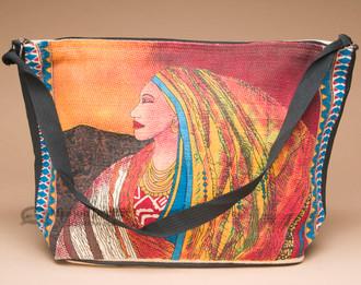 Southwest Design Purse -Woman at Sunrise