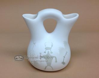 Ancient Shadows Wedding Vase -Navajo