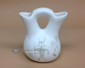 Ancient Shadows Wedding Vase -Navajo