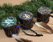 3 Piece Drum Ornament Set