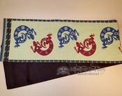 Southwest woven tapestry table runner