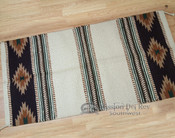 Handwoven Wool 8 lb. Saddle Blanket