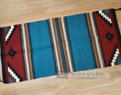 "Handwoven Wool 8 lb. Saddle Blanket 32""x64"""