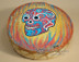 Painted Drum Day of the Dead -Sugar Skull