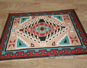 Large 6'x9' Southwest Area Rug