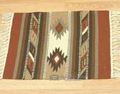Wool Southwestern Placemat - Hopi