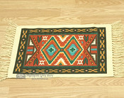 Southwestern Cotton Placemat 13x19 - Black Geometric
