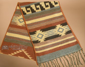 Traditional Southwestern Scarf - Gray