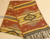 Southwestern Rustic Style Scarf - Yellow and Orange