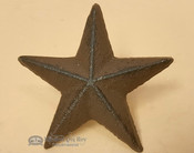 Southern Rustic Metal Art Decorative Nails - Texas Star