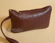 Southwestern Faux Leather Writlet Purse